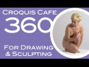 Croquis Cafe 360: Drawing & Sculpture Resource, Simone #16