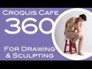 Croquis Cafe 360: Drawing & Sculpture Resource, Vivian #8