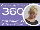 Croquis Cafe 360: Drawing & Sculpture Resource, Simone #20