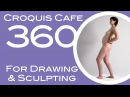 Croquis Cafe 360: Drawing & Sculpture Resource, Vivian #4