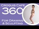Croquis Cafe 360: Drawing & Sculpture Resource, Vivian #1