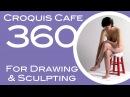 Croquis Cafe 360: Drawing & Sculpture Resource, Vivian #7
