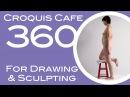 Croquis Cafe 360: Drawing & Sculpture Resource, Vivian #5