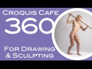 Croquis Cafe 360: Drawing & Sculpture Resource, Simone #8