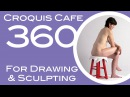 Croquis Cafe 360: Drawing & Sculpture Resource, Vivian #6