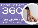 Croquis Cafe 360: Drawing & Sculpture Resource, Vivian #11