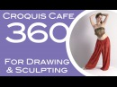 Croquis Cafe 360: Drawing & Sculpture Resource, Gabrielle #4