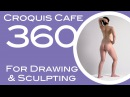 Croquis Cafe 360: Drawing & Sculpture Resource, Vivian #3