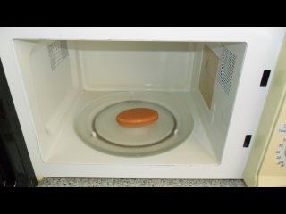 Что будет если засунуть мыло в микроволновку