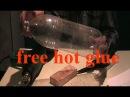 Бесплатный термоклей из пластиковой бутылки Free hot melt from a plastic bottle