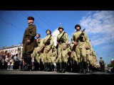 Шествие ветеранов, трудящихся, спортсменов и творческой молодежи «Чести и доблести героев – слава!»