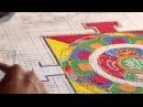 Тибетская Песочная Мандала - неделя работы за полторы минуты