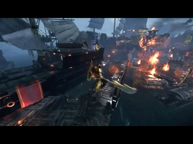 King of Wushu 九阳神功 - Official PC Version CBT First Test Naval Map