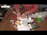 Игрушки из ваты своими руками Мастер-класс Spun-cotton ornaments