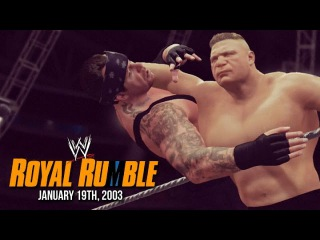 WWE 2K16: The Beast Conquers The Rumble! (On This Day: Jan 19, 2003)