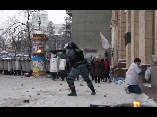 Публикуется впервые 22.01.2014 Киев. Майдан и Грушевского • Kiev Maidan, Grushevskogo