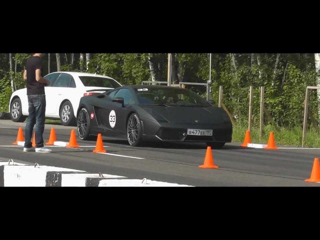 1600whp Lamborghini Gallardo Superleggera Total Race Unlim 500 (23.06.2012) RWD