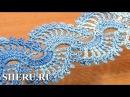 Crochet Lace Tape Pattern Урок 5 часть 2 из 2 Лента в технике ленточного кружева