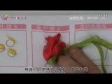 リボン刺繍つくり方講座28/41【C菊花繍c】ケイトリリアン刺繍館