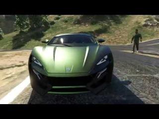 Лукан Гиперспорт из Форсажа 7 для ГТА 5 GTA 5