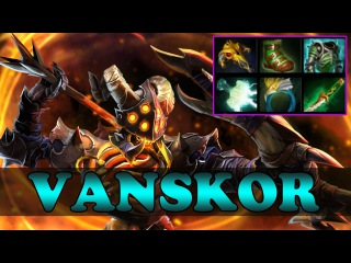 Dota 2 - VANSKOR Plays Clinkz Vol 3 - Ranked Match Gameplay