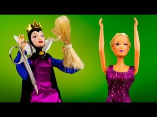 Куклы Барби Штеффи Потеряла Волосы мультик с игрушками игры для девочек на русском