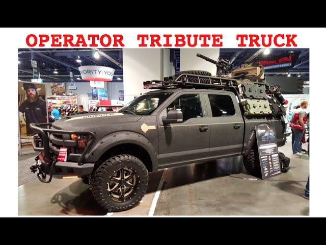 Operator Ford F150 tribute truck SEMA Las Vegas