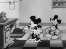 Mickey Mouse, Minnie Mouse, Pluto - The Grocery Boy 1932