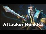 Attacker Kunkka 6900 MMR Pub Gameplay Dota 2