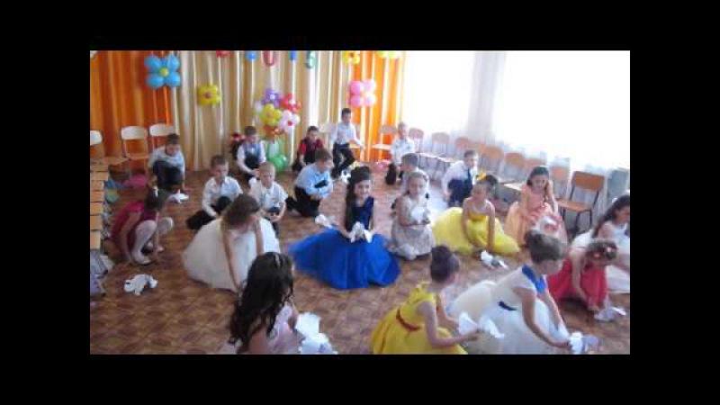 Птицы ,мои птицы-танец на выпускном в д/саду №4 г. Чадыр-Лунга