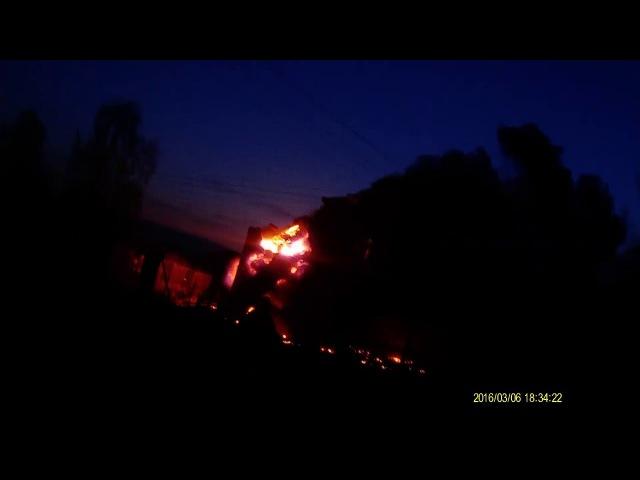 Пожежа. смт. Володимирець, трансформаторна підстанція 06.03.16.