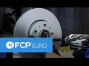 How To Replace Volvo S60 Front Brakes Bosch QuietCast Pads Rotors FCP Euro