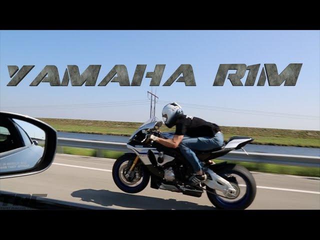 Yamaha R1M drag races R35 GTR on the street!