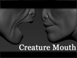 Zbrush - Creature Mouth Next Step After Dynamesh