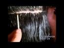 Холодное безопасное наращивание волос на резинке Giasemi холодный метод hair extensions cold method