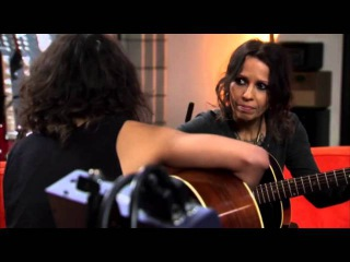 Aimee Has A Solo Session With Linda Perry