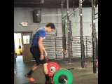 """Angelo DiCicco on Instagram: """"Hit the Wodapalooza workout 6 this morning and at the 6 min mark until the 20 min mark I worked up to a max snatch. Walked away with a 10lb…"""""""