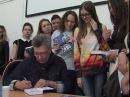 Писатель Анатолий Омельчук презентовал свой роман в тюменском вузе