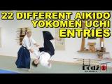 Aikido Techniques 22 Yokomen Uchi Entries w. Sensei Patrick Cassidy (6th Dan)