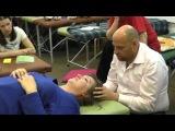 Краниосакральная терапия (остеопатия) черепа и нервов при головной боли и остеохондрозе шеи.