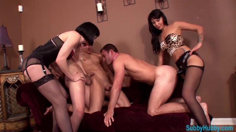 Порно госпожа обучает