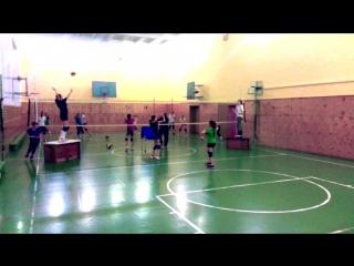 Наши повседневные тренировки по волейболу.