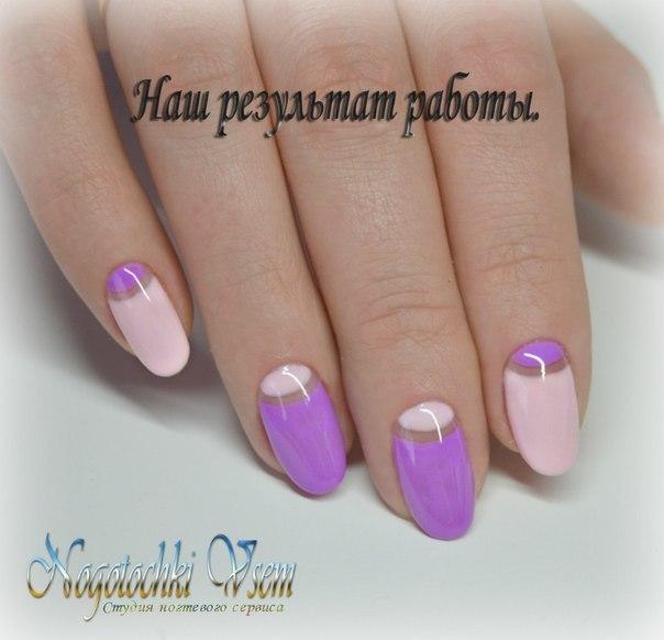 Дизайн ногтей шеллаком в домашних условиях пошагово фото