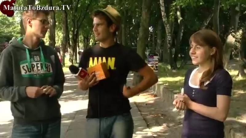 OKULARNICY vs RESZTA ŚWIATA (Польский видеоблог – Матура То Бздура)