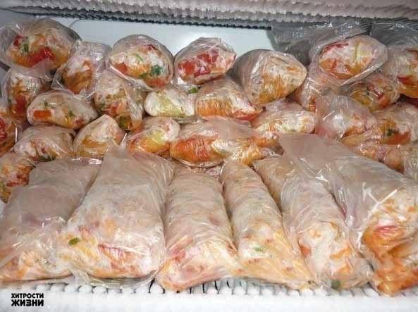 заготовки для супов замороженные