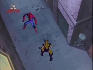 Человек-паук (1994). 17 серия. Страсти по мутантам.