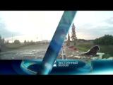 Кировские велосипедисты чудом уцелели в серьезной аварии.