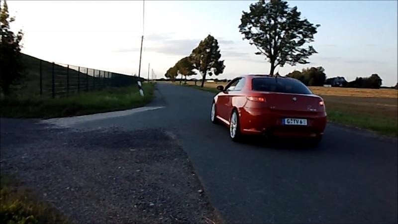 Alfa Romeo GT 3.2 V6 Ragazzon MSD und ESD Edelstahl, 24V Busso Arese