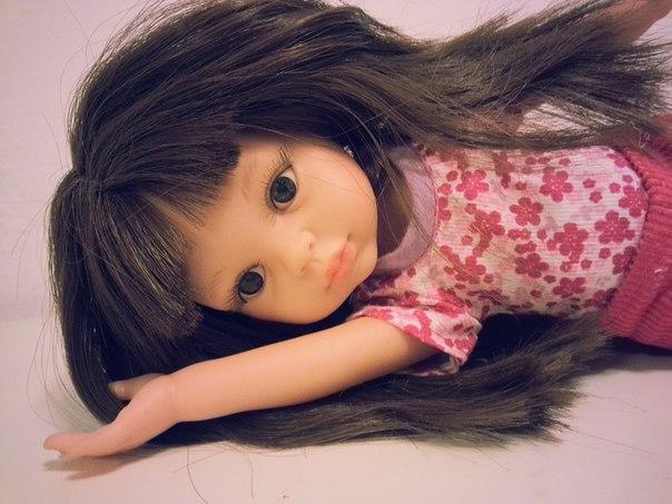 Плести косы для куклы