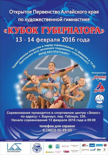 «Кубок губернатора», 13-14.02.2016, Барнаул